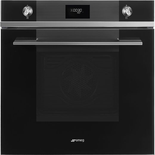Smeg Linea SF6101TVN1 Built In Electric Single Oven - Black - A+ Rated