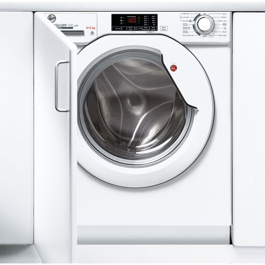 Hoover HBD485D1E/1 Integrated 8Kg / 5Kg Washer Dryer with 1400 rpm - White - E Rated
