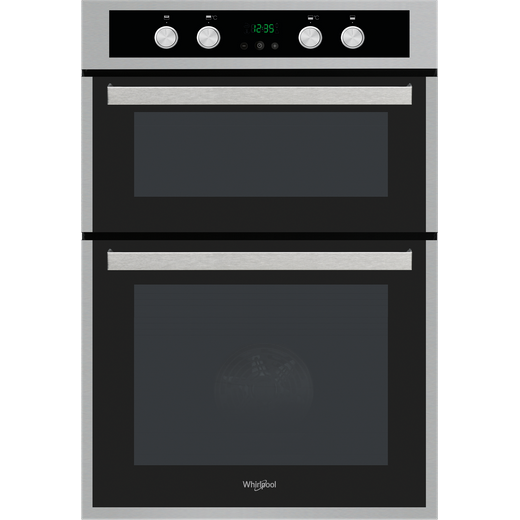 Whirlpool AKL309IX Built In Electric Double Oven - Stainless Steel