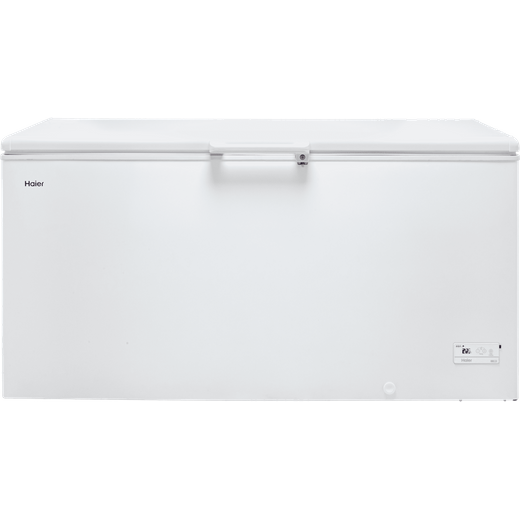 Haier HCE519F Chest Freezer - White - F Rated
