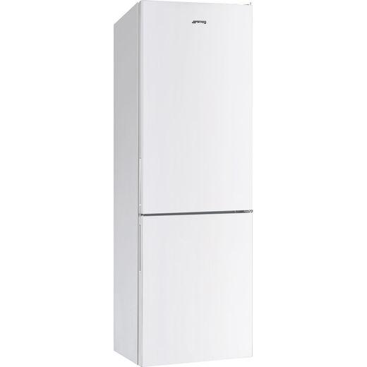 Smeg FC18EN1W 60/40 Frost Free Fridge Freezer - White - E Rated