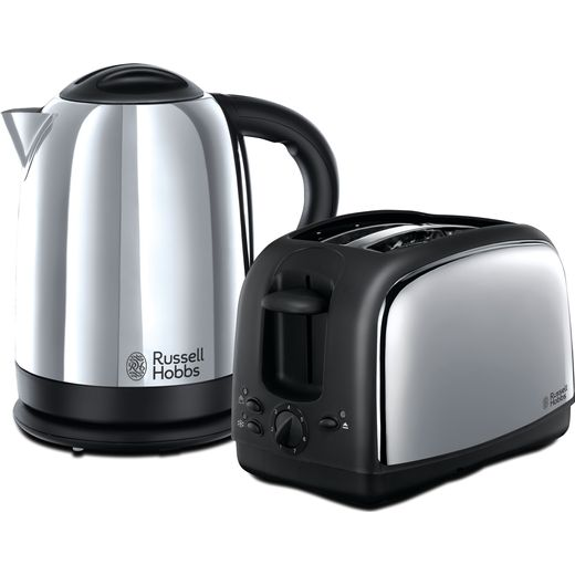Russell Hobbs Lincoln 21830 Kettle And Toaster Set - Silver
