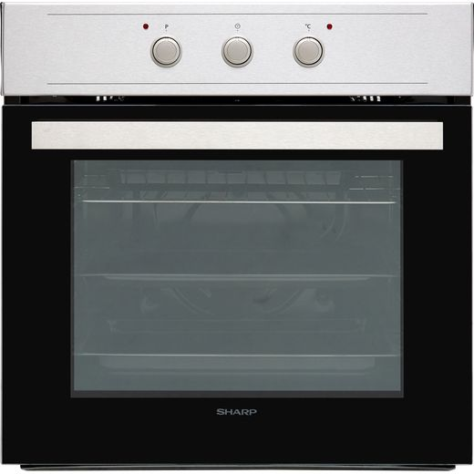 Sharp K-60M15IL2-EU Built In Electric Single Oven - Stainless Steel - A Rated