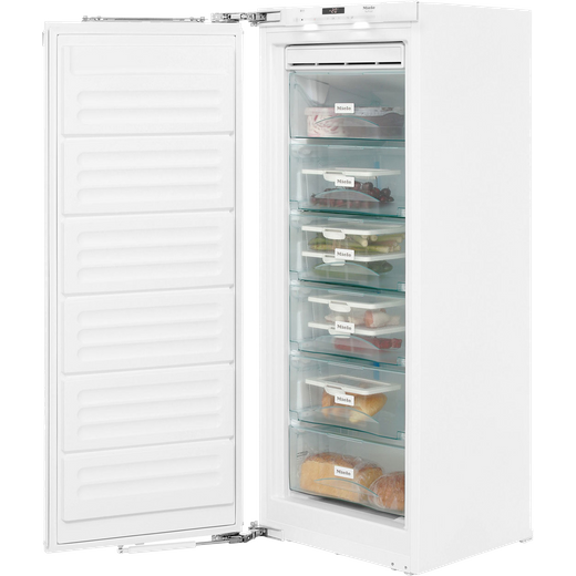 Miele FNS35402i Integrated Frost Free Upright Freezer with Fixed Door Fixing Kit - F Rated