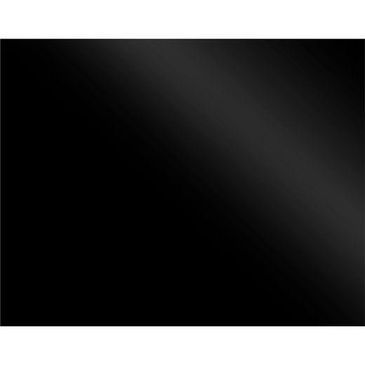 Non-Branded SBK 100 100 cm Coloured Glass Splashback - Black Glass