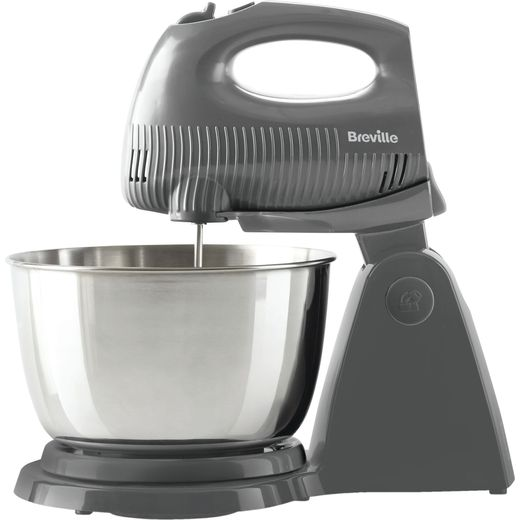 Breville Flow Collection VFM035 Stand Mixer with 3.5 Litre Bowl - Grey