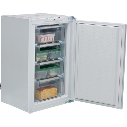 Bosch Serie 4 GID18ASE0G Integrated Upright Freezer with Sliding Door Fixing Kit - E Rated