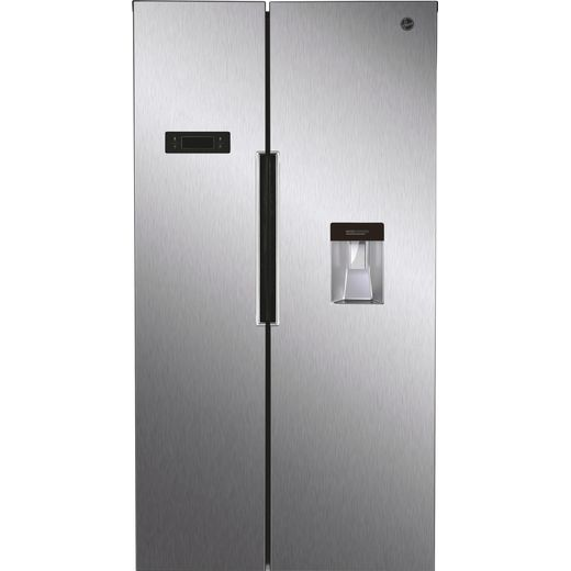 Hoover HHSBSO6174XWDK American Fridge Freezer - Stainless Steel Effect