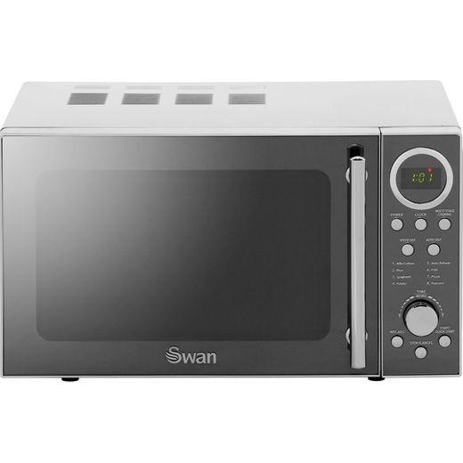 Swan SM3080N 20 Litre Microwave - Silver