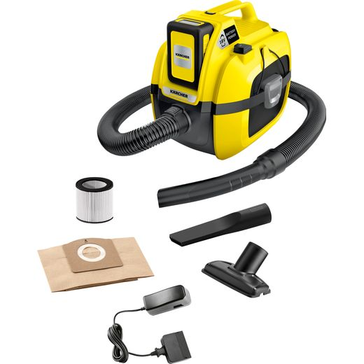 Karcher WD 1 Cordless Wet & Dry Cleaner