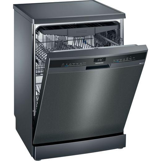 Siemens IQ-300 SN23EC14CG Wifi Connected Standard Dishwasher - Black - C Rated