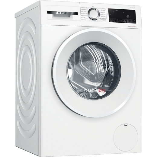 Bosch Serie 6 WNA14490GB 9Kg / 6Kg Washer Dryer with 1400 rpm - White - E Rated