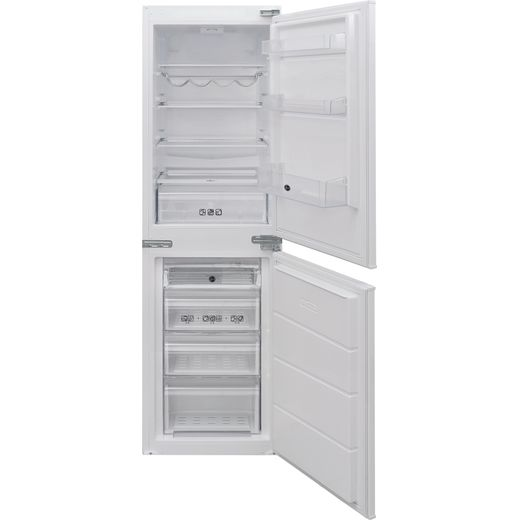 Hoover BHBS172UKT/N Integrated 50/50 Fridge Freezer with Sliding Door Fixing Kit - White - A+ Rated