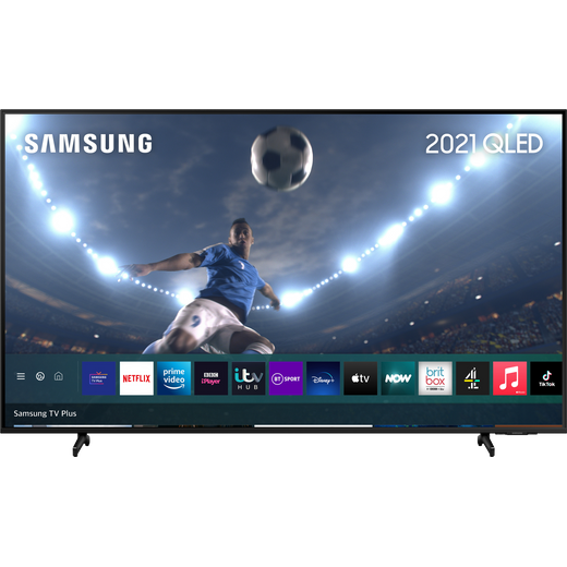 """Samsung QLED QE43Q60AA 43"""" 4K Ultra HD TV With 100% Colour Volume and Apple TV App"""