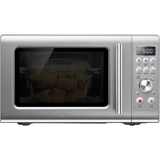 Sage The Compact Wave™ Soft Close SMO650SIL4GEU1 25 Litre Solo microwave - Silver