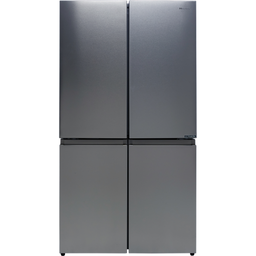 Hisense RQ758N4SAI1 American Fridge Freezer - Stainless Steel - F Rated