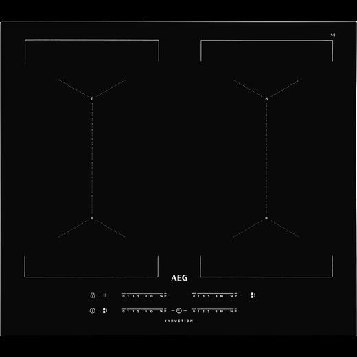 AEG IKE64450FB 59cm Induction Hob - Black