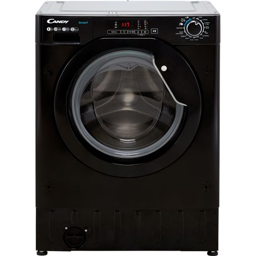 Candy CBW48D1BBE/1 Integrated 8Kg Washing Machine with 1400 rpm - Black - D Rated