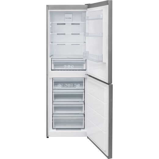 Candy CVNB6182XH5KN 70/30 Frost Free Fridge Freezer - Stainless Steel - F Rated