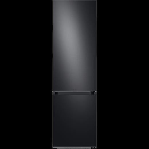 Samsung Bespoke RB38A7B6BB1 70/30 Frost Free Fridge Freezer - Black / Stainless Steel - B Rated