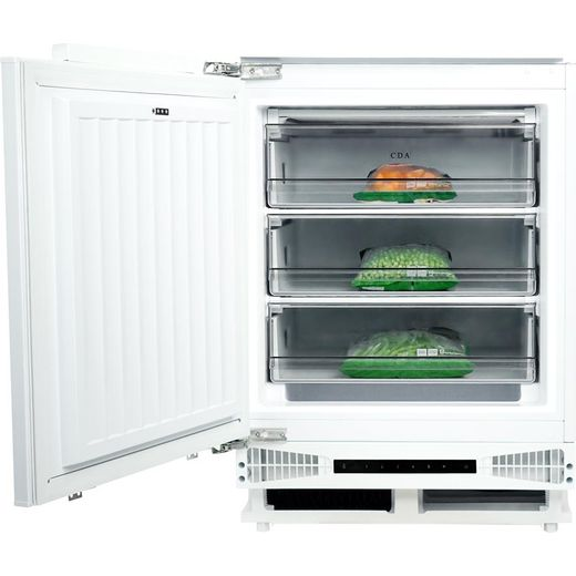 CDA FW284 Integrated Under Counter Freezer with Sliding Door Fixing Kit - F Rated