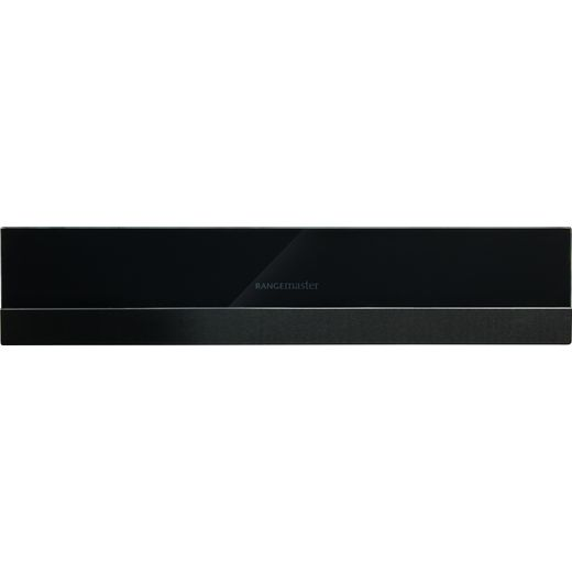 Rangemaster Eclipse ECL14WDBL/BL Built In Warming Drawer - Black