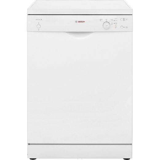 Bosch Serie 2 SMS24AW01G Standard Dishwasher - White - F Rated