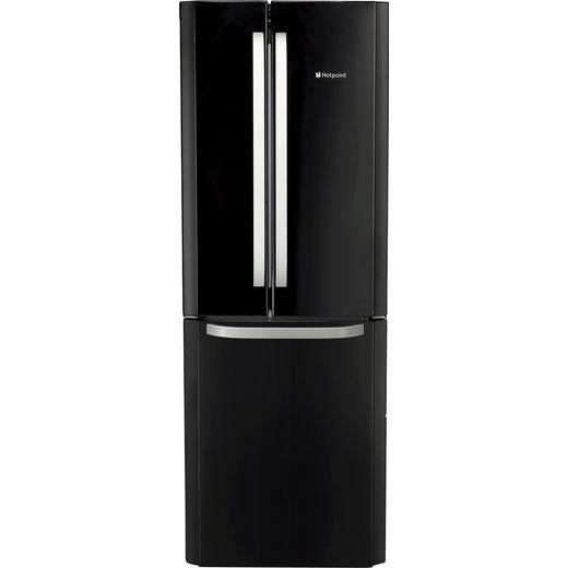 Hotpoint FFU3DGK1 60/40 Frost Free Fridge Freezer - Black - F Rated