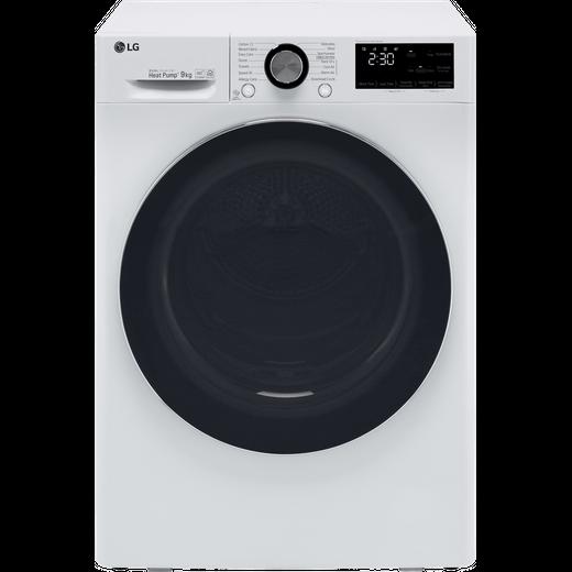 LG V9 FDV909W Heat Pump Tumble Dryer - White