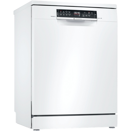 Bosch Serie 6 SMS6ZDW48G Standard Dishwasher - White