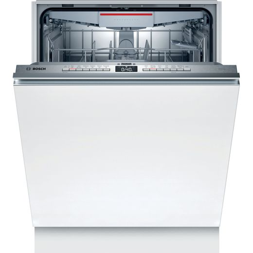 Bosch Serie 4 SMV4HVX46G Wifi Connected Fully Integrated Standard Dishwasher - Stainless Steel Control Panel - E Rated
