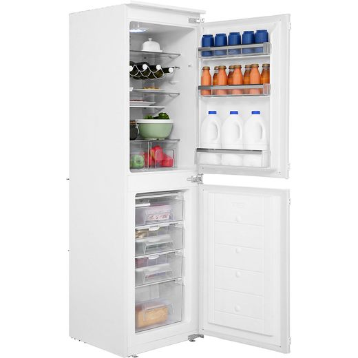 Amica BK296.3 Integrated 50/50 Fridge Freezer with Sliding Door Fixing Kit - White - F Rated