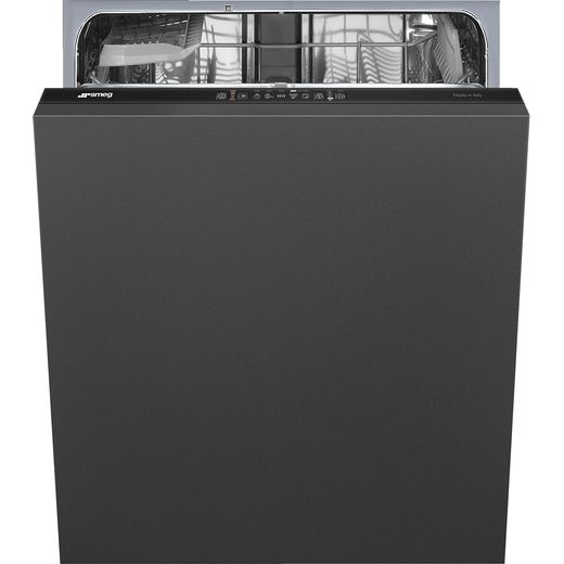 Smeg DIA211DS Fully Integrated Standard Dishwasher - Black Control Panel - D Rated
