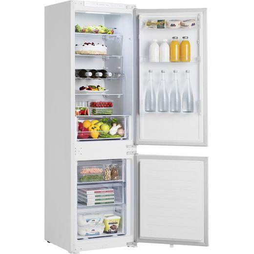 Hisense RIB312F4AWF Integrated 70/30 Fridge Freezer with Sliding Door Fixing Kit - White - F Rated