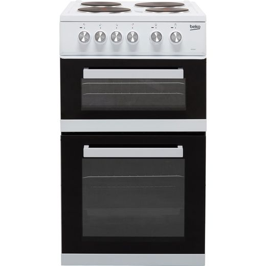 Beko KD532AW Electric Cooker - White - Needs 9.3KW Electrical Connection