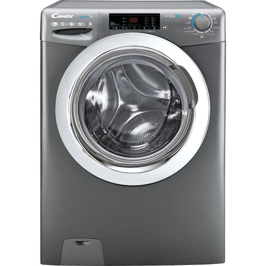 Candy Smart Pro CSOW2853TWCGE Wifi Connected 8Kg / 5Kg Washer Dryer with 1200 rpm - Graphite - F Rated