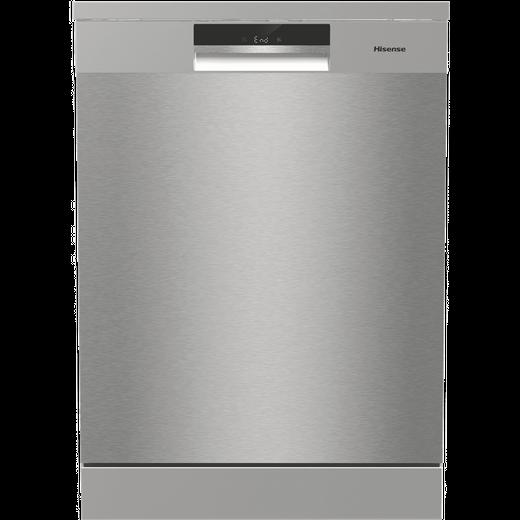 Hisense HS661C60XUK Standard Dishwasher - Stainless Steel - C Rated