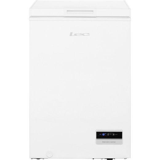 Lec CF100LMk2 Chest Freezer - White - F Rated