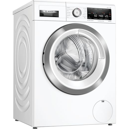 Bosch Serie 8 WAV28MH3GB Wifi Connected 9Kg Washing Machine with 1400 rpm - White - B Rated