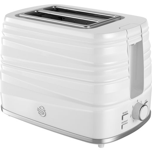 Swan Symphony ST31050WN 2 Slice Toaster - White