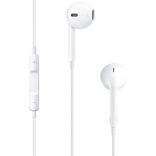 Apple EarPods with 3.5mm Headphone Plug -White