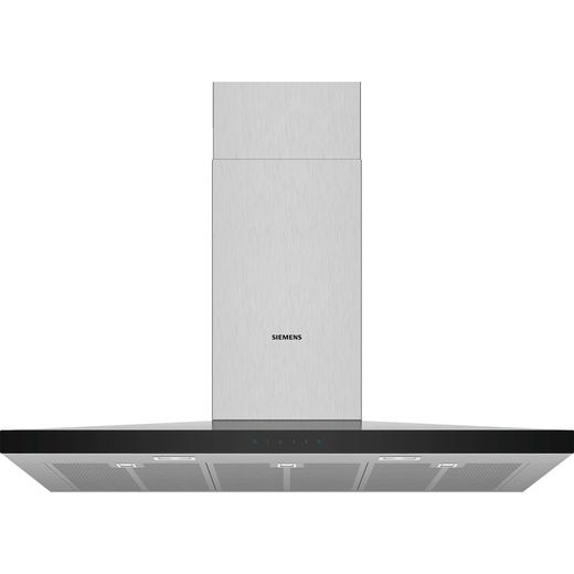 Siemens IQ-300 LC97QFM50B 90 cm Chimney Cooker Hood - Stainless Steel - B Rated