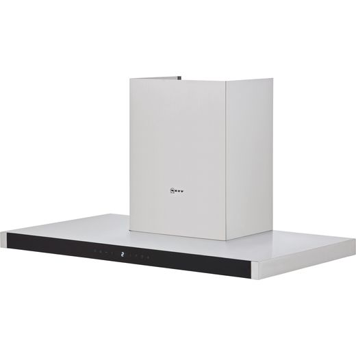NEFF N70 D95BMP5N0B 90 cm Chimney Cooker Hood - Stainless Steel - A Rated