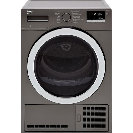Beko DCY9316G 9Kg Condenser Tumble Dryer - Graphite - B Rated