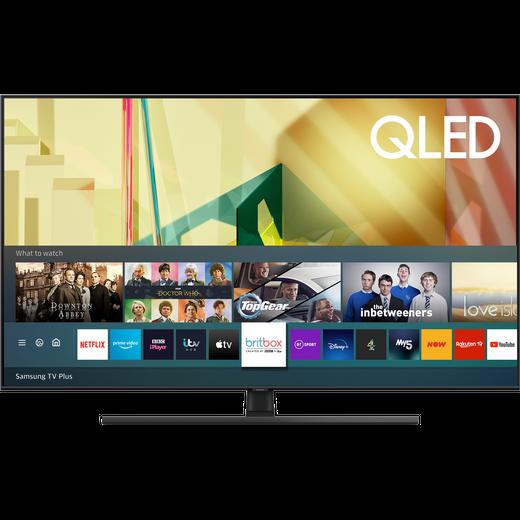 "Samsung QE75Q70TA 75"" Smart 4K Ultra HD QLED TV With 100% Colour Volume, Quantum Processor and Dual LED"