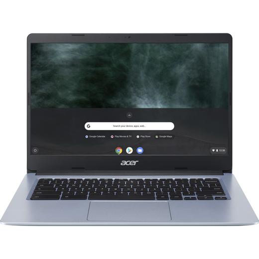 "Acer CB314-1H 14"" Chromebook Laptop - Silver"