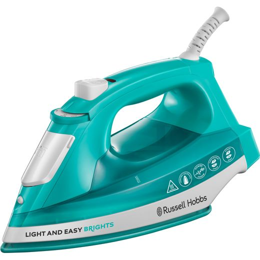 Russell Hobbs Light & Easy Brights 24840 2400 Watt Iron -Aqua
