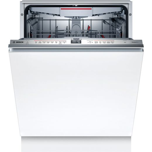 Bosch Serie 6 SMD6ZCX60G Wifi Connected Fully Integrated Standard Dishwasher - Stainless Steel Control Panel - C Rated