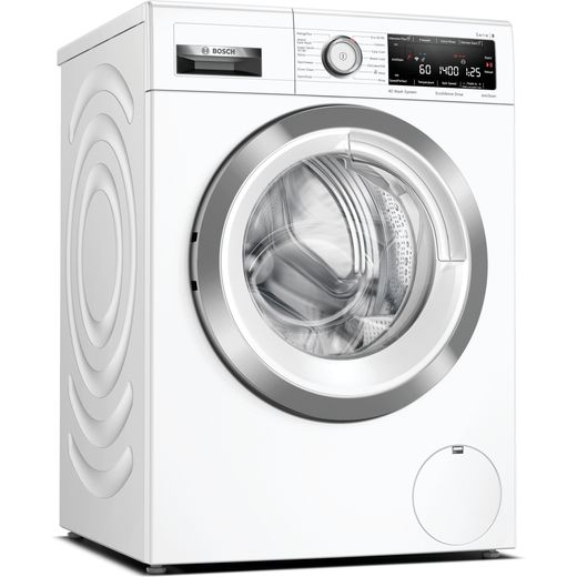 Bosch Serie 8 WAV28MH4GB Wifi Connected 9Kg Washing Machine with 1400 rpm - White - A Rated