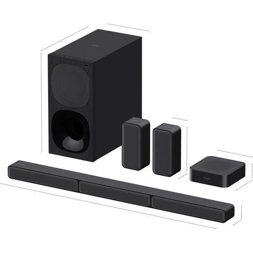 Sony HTS40R.CEK Bluetooth 5.1 Soundbar - Midnight Black